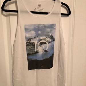 Tops - White tentree tank